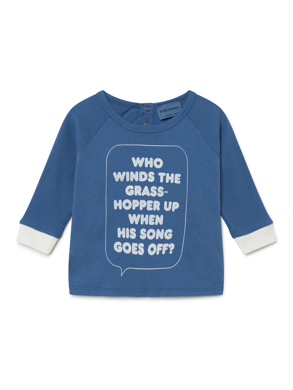 Bobo Choses Who Long Sleeve T-Shirt