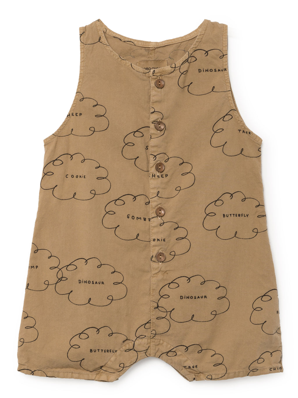 Bobo Choses Clouds Playsuit