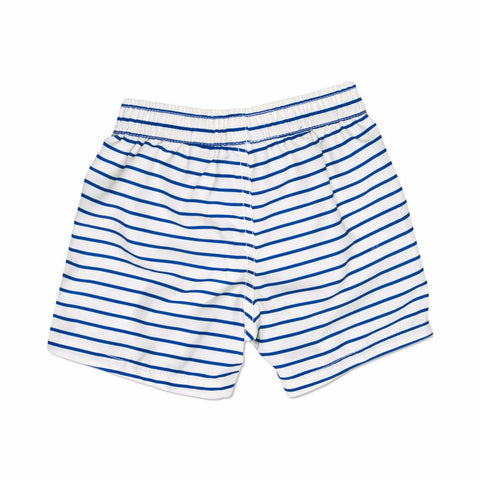 MINI RODINI Stripe AOP Swimshorts - Blue