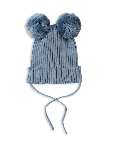 Mini Rodini - Ear Hat Light Blue