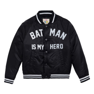 Little Eleven Paris - Penn Batman Face Black Jacket