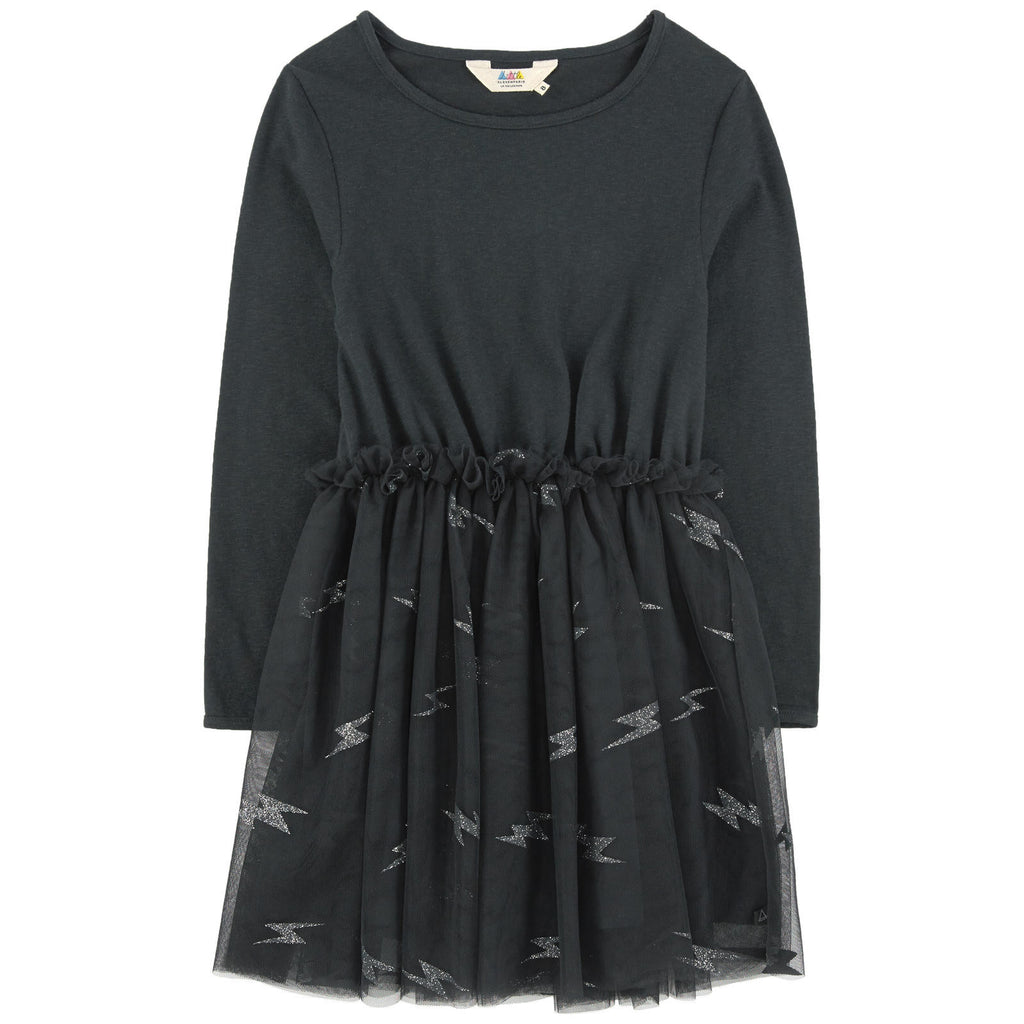 Little Eleven Paris - Ramones Black Lightning Dress