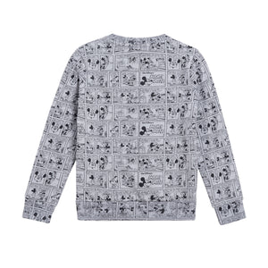 Little Eleven Paris - Mickey Grey Sweater
