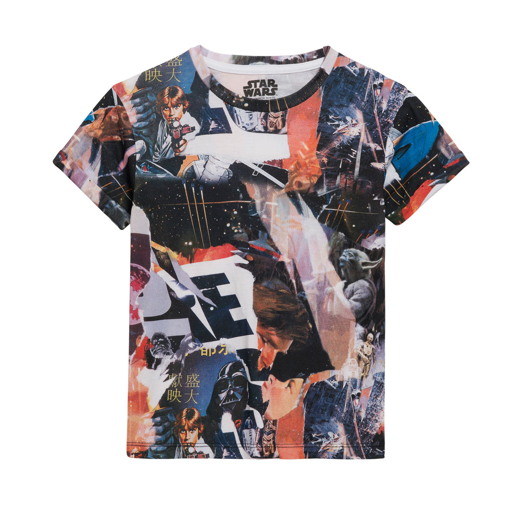 Little Eleven Paris - StarWars Short Sleeved T-Shirt