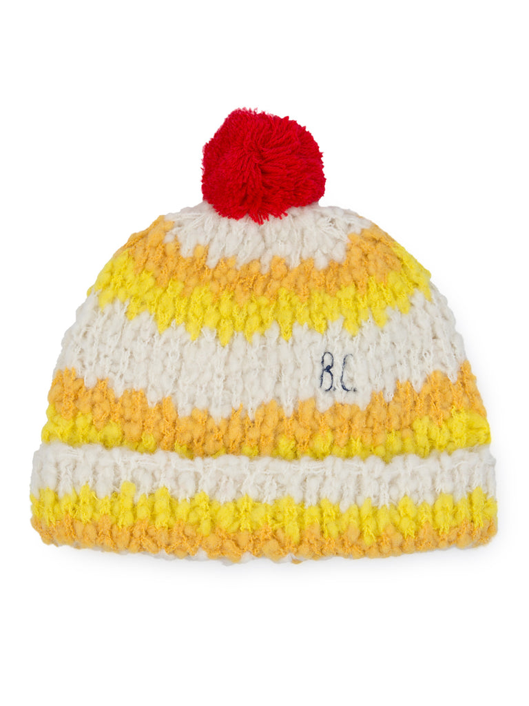 Bobo Choses - Yellow Stripes Beanie
