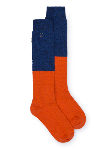 Bobo Choses - Blue and Red Long Socks