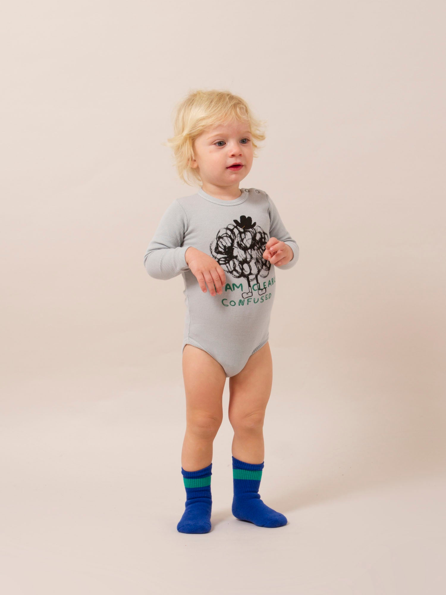 Bobo Choses - Clearly Confused Long Sleeve Body