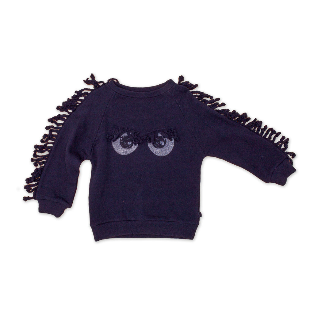 Noe & Zoe - Adults College Sweater MiniMe - Midnight Blue
