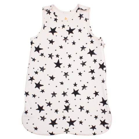 Noé & Zoë Sleeping Bag - Black Stars