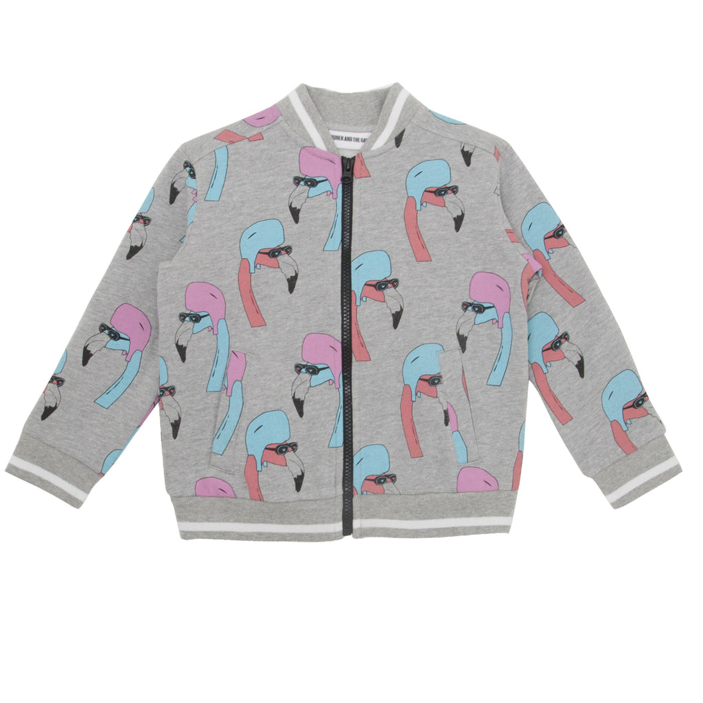 Gardner and the Gang - Jacket 'Helmut Flamingo' All over Print