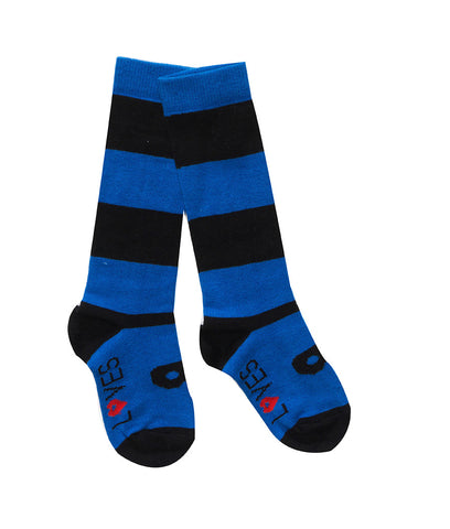 Beau Loves - Knit Knee High Socks Blue