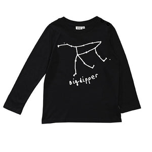 Beau Loves Long Sleeved Baby Top - Black Big Dipper