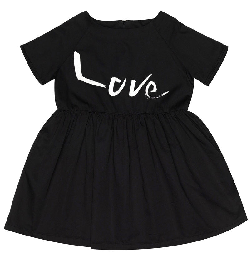 Beau Loves - Love Dress Inky Black