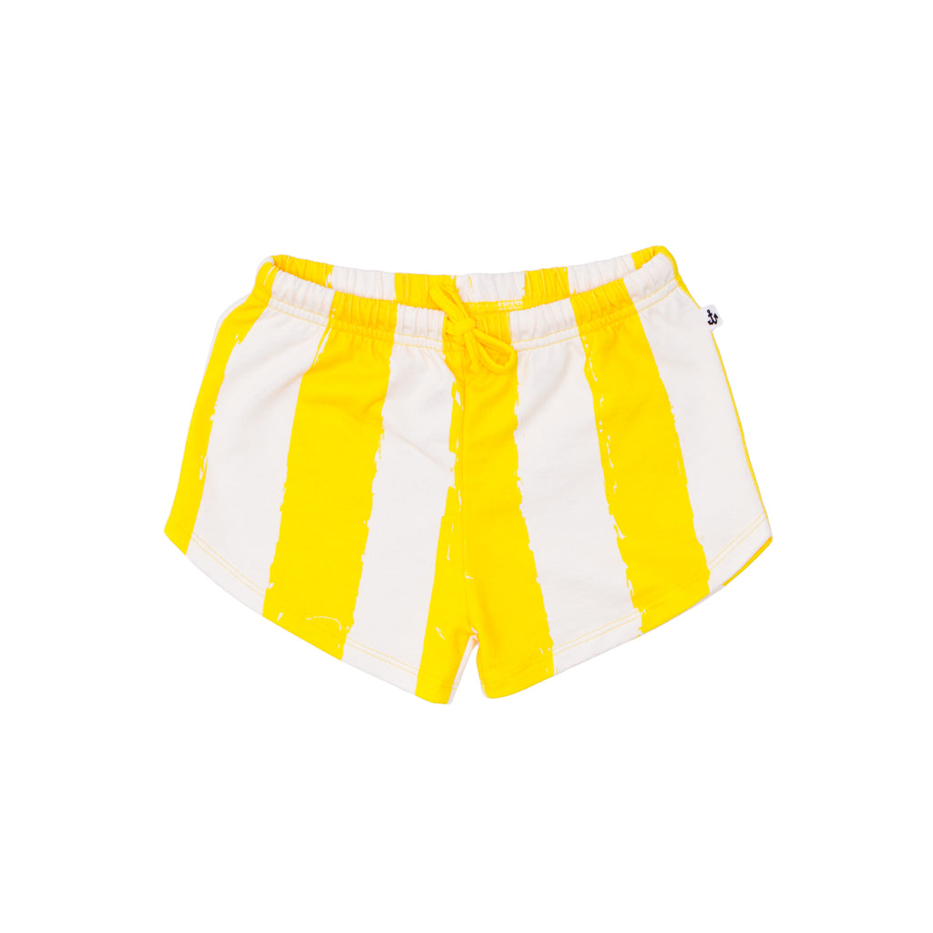 Noé & Zoë - Shortie Shorts - Yellow Stripes XL