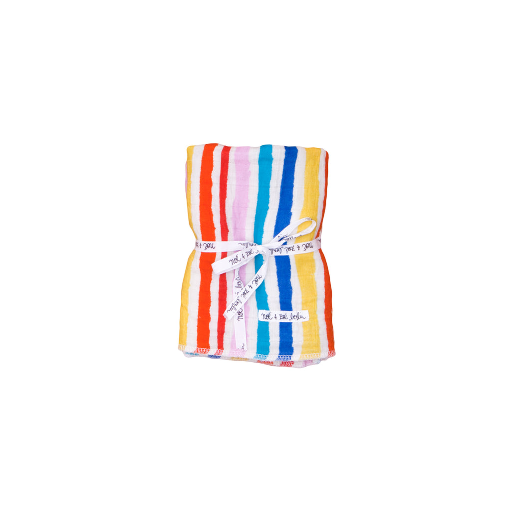 Noé & Zoë - Swaddle - Rainbow Multi Kulti