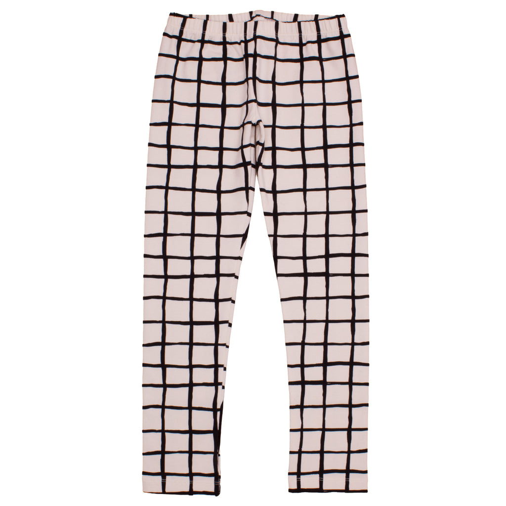 Noé & Zoë Baby Leggings - Black Grid