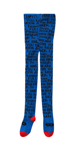 Beau Loves - Knit Tights Blue