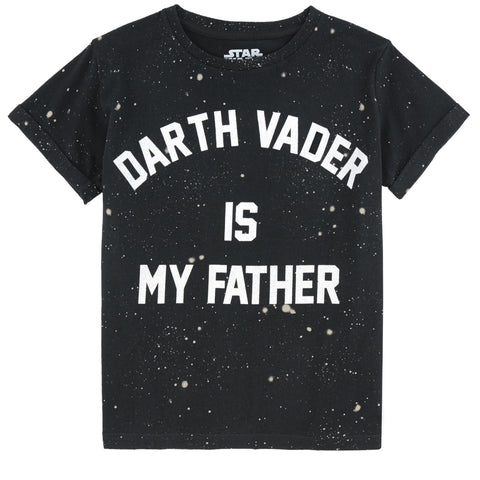 Little Eleven Paris - Darth Vader is my Father Short Sleeved T-Shirt