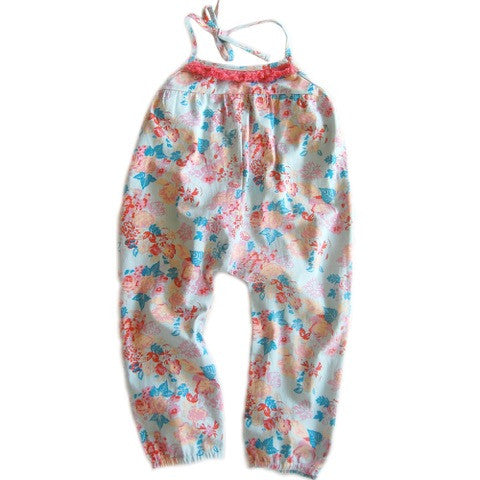 Lulaland - Camila Romper - Bouquet Blue