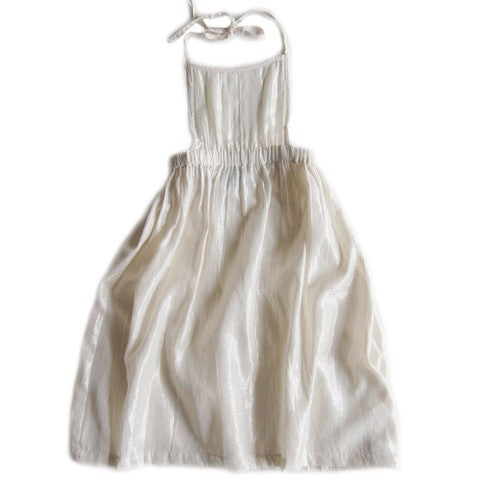 Lulaland - Kate Dress - Lamé Silver