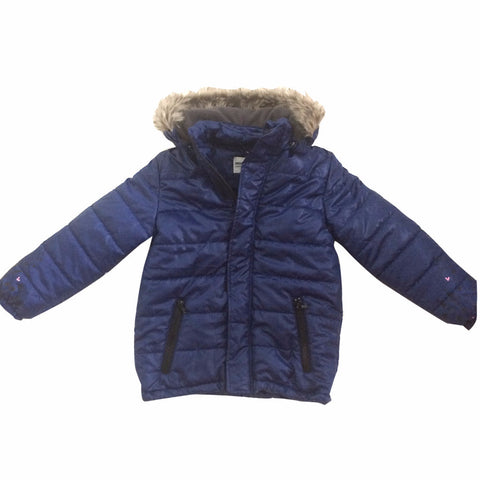 GARDNER AND THE GANG WINTER JACKET - STEVE - NAVY BLUE