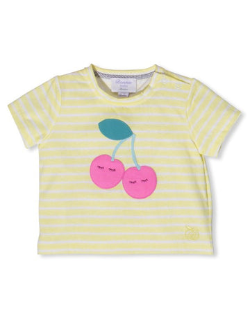 Bonnie Baby Yellow T-Shirt Very Cherry