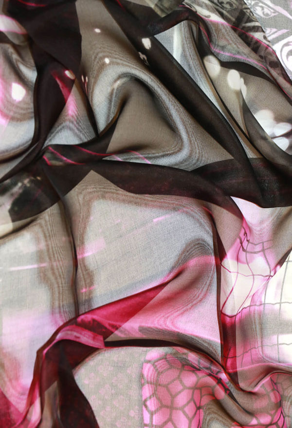 luxury black silk chiffon scarf online from a friend of mine paris taipei tokyo
