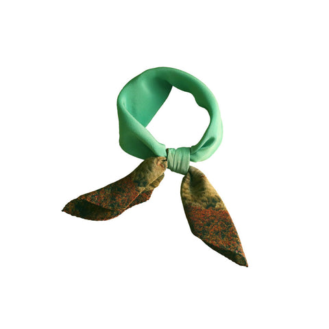 Buy Luxury Silk Neck Scarf styles for women & Shop bandanas online. Perfect gift for her as salon champagne.