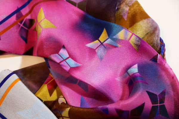 buy luxury silk scarf online paris taipei tokyo isetan selfridges vetements made in italy
