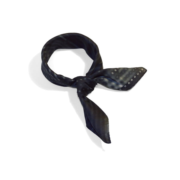 black stylish cotton scarf from a friend of mine online paris taipei tokyo