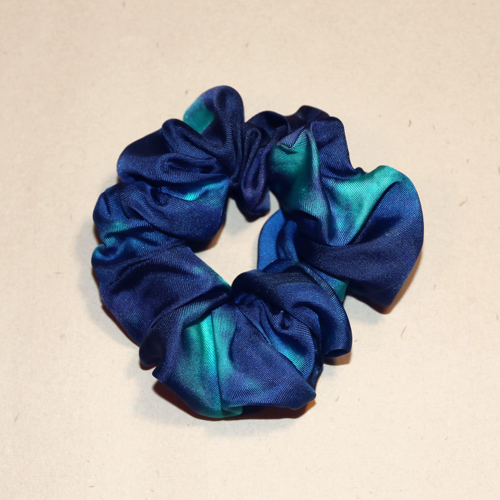 buy blue fashion silk scrunchies online paris taipei tokyo harvey nichols isetan selfridges barneys new york