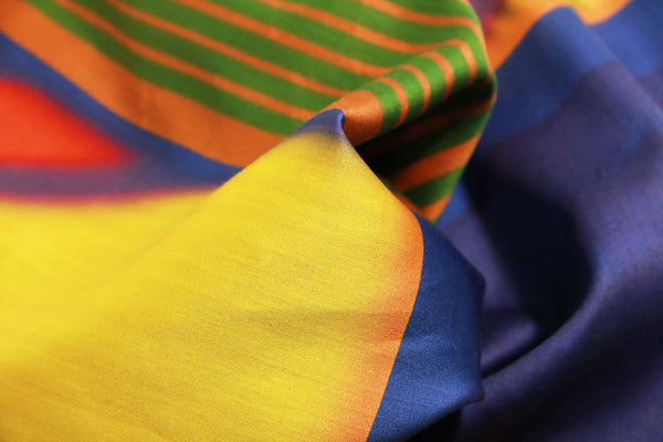 details fashion rainbow cotton satin scarf from a friend of mine online paris taipei tokyo
