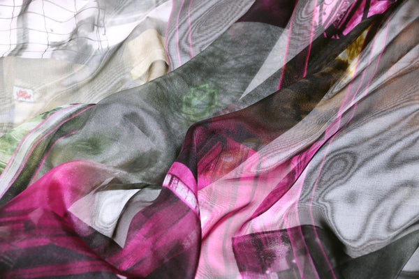 Luxury silk chiffon scarf from a friend of mine online paris taipei tokyo 禮物推薦 精品絲巾 スカーフ 通販 女性 プレゼント