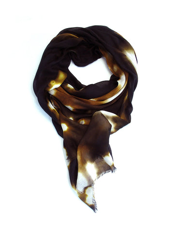 Buy big luxury black scarf for women. Perfect gift than Taittinger & Deutz!