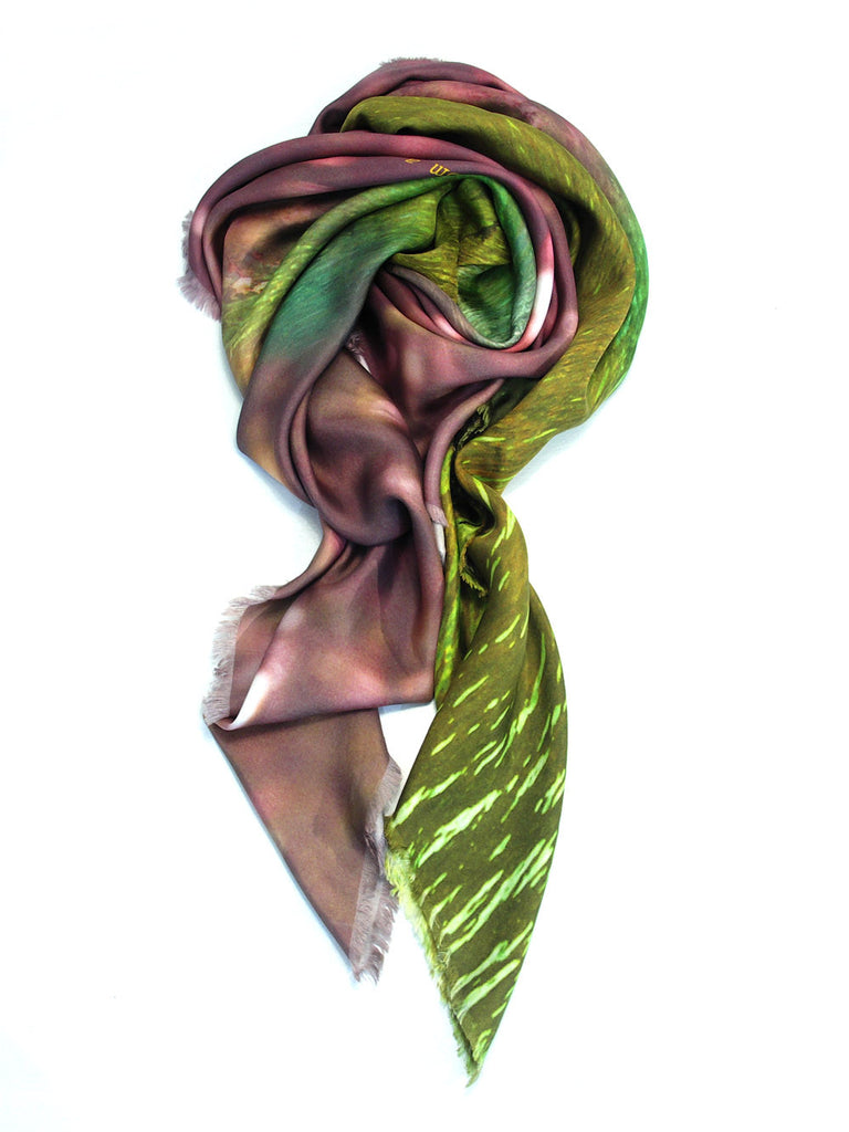 Buy big beautiful silk scarf styles for women as luxury accessories online & in Paris!