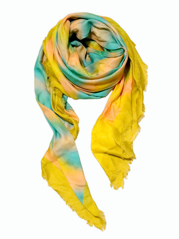 Luxury accessories: Shop Big square scarves for women in Paris fashion week.