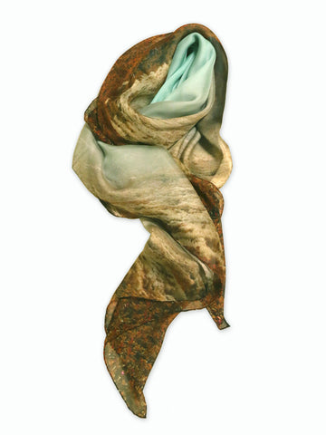 Buy stylish silk chiffon scarf for women as luxury accessories. Perfect gift to Taittinger & Deutz!