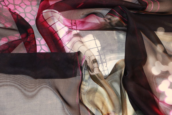 stylish black silk scarf from a friend of mine paris' impression online paris taipei tokyo