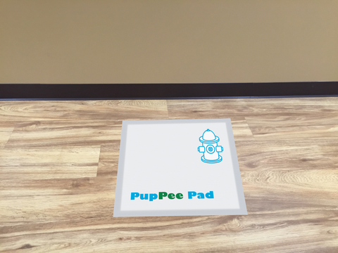 Puppee Pad 100 Pack Blue Regular