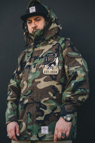 Struggle All Weather Tech Parka (Military Shell)