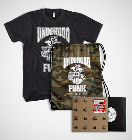 "7"" single: Dj Shocca aka Roc Beats - Underdog Funk Vol.1"