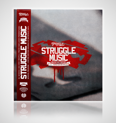 2LP: DJ Shocca & Frank Siciliano - Struggle Music (Red Premium Ltd Edition Vinyl)