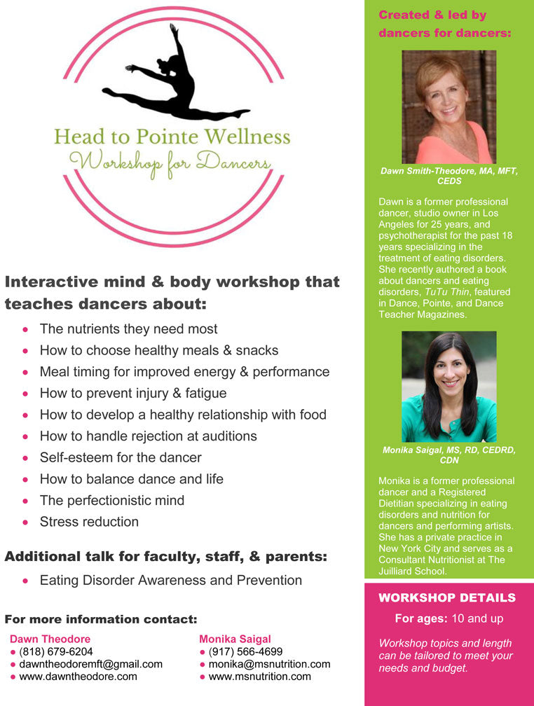 Dancer Wellness Workshop