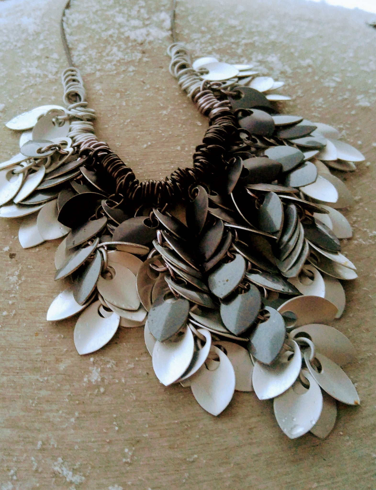 leaves handmade jewellery hamilton picture oak studio kate by necklace of hunter