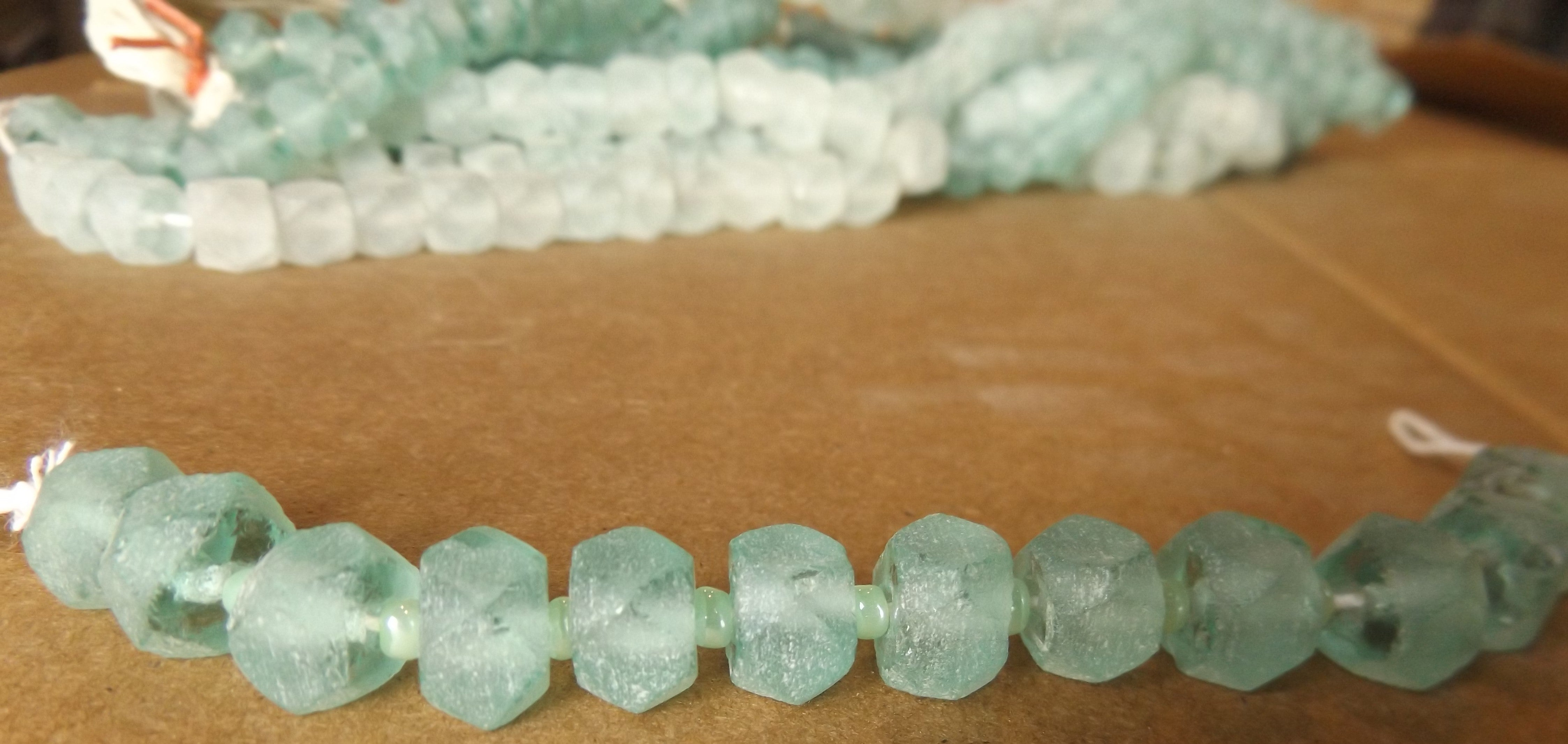 Indonesian Recycled glass beads