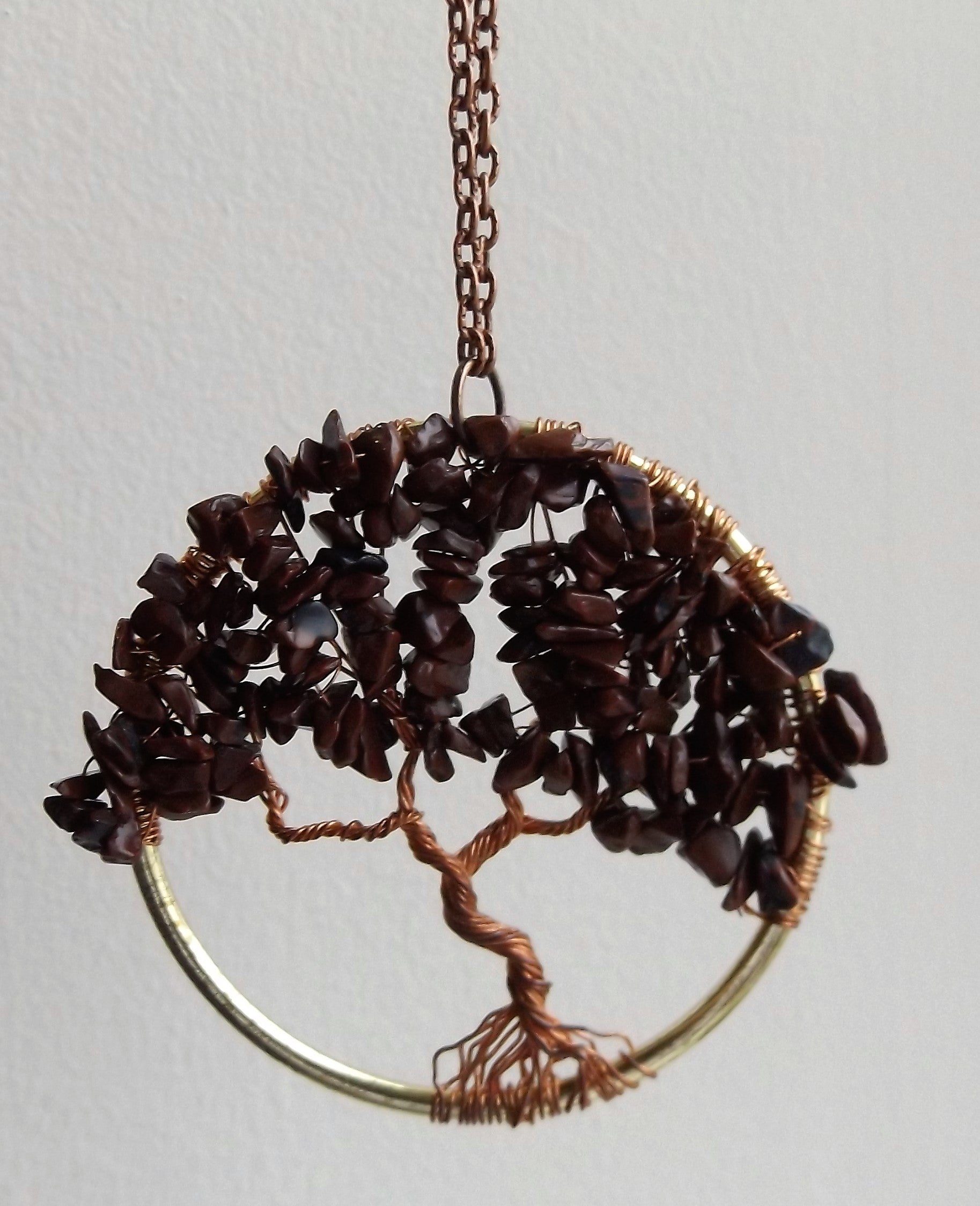TREE OF LIFE (Pendant Ring) (Wire Weaving/Wrapping Class) - Mhai O ...