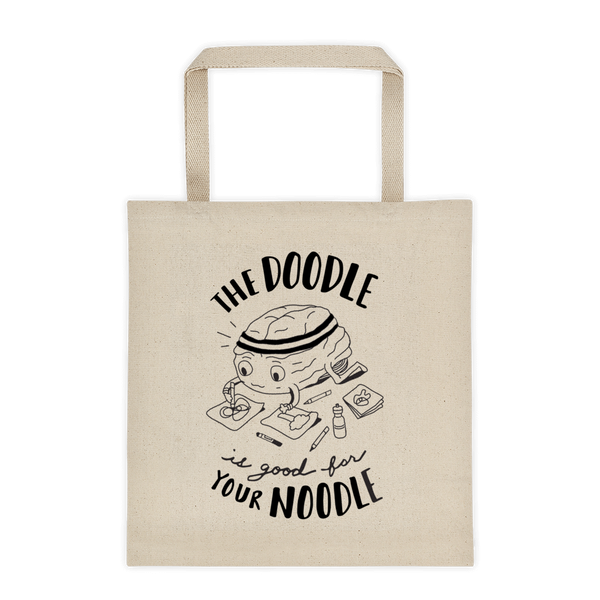 The Doodle is Good for Your Noodle - Tote Bag