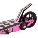 Collapsible electric scooter pink