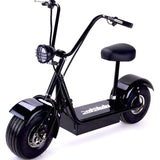 FatBoy 48v 500w Electric Scooter left angle profile 2