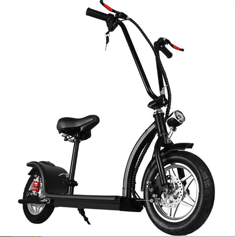 Sleek 36v 350w Lithium Folding Electric Scooter